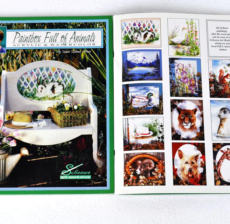 Scheewe, Paintbox Full of Animals, book, 450-2