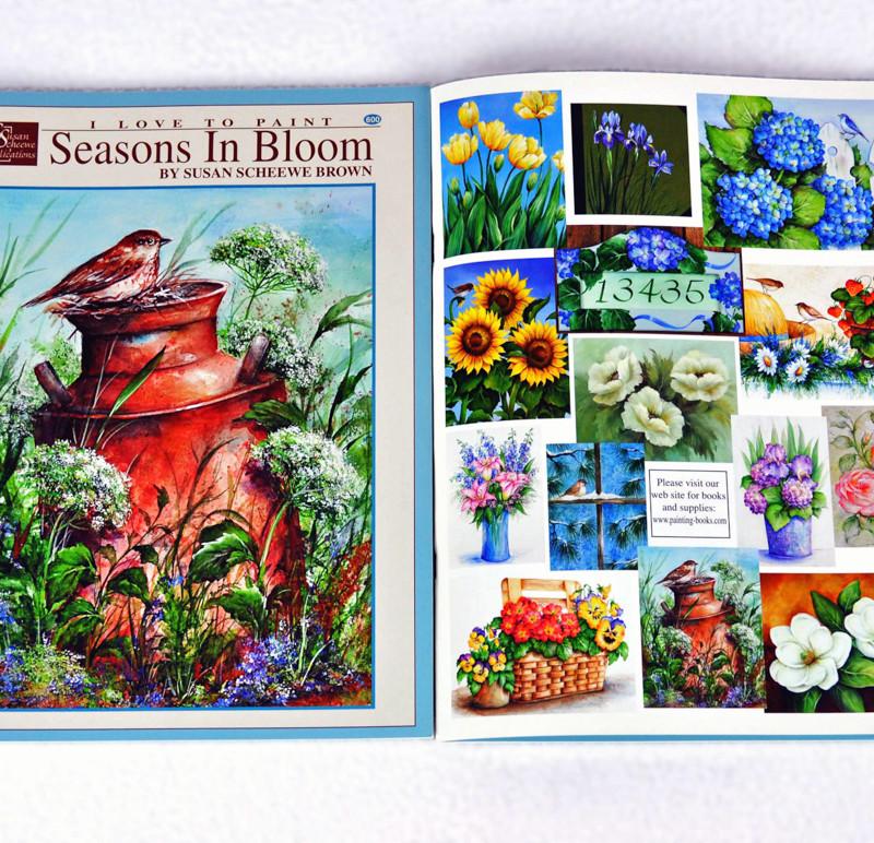 Scheewe, Seasons in Bloom, book, 600-2